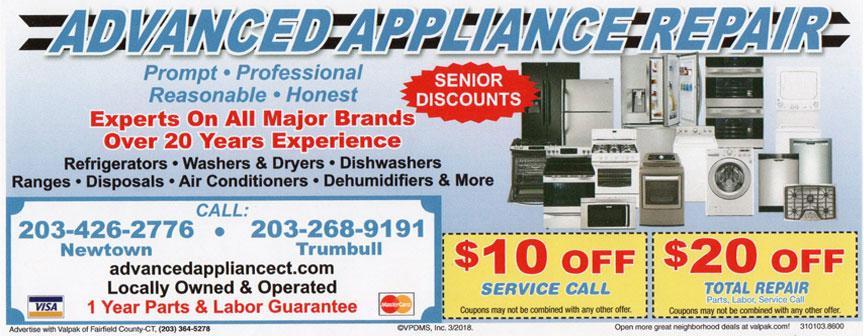 Range Repair Newtown Ct Advanced Appliance Service